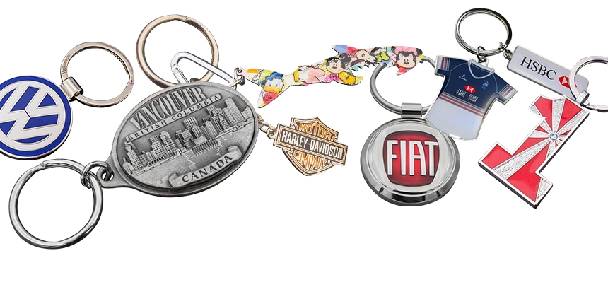 All Metal Keyrings