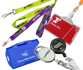 Custom Lanyards & ID Accessories