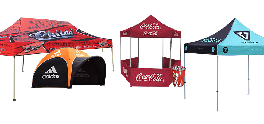 Printed Trade Show Tents