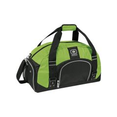 wasabe coloured dome duffle bag
