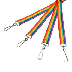 Rainbow Lanyards In Stock