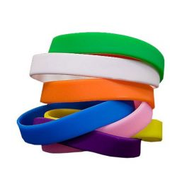 Overnight Plain Wristbands In Stock