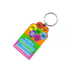 Custom Shape PVC Keyrings