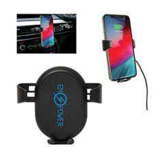 black phone charging mount for car
