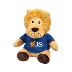 Toby the Stuffed Lion (with T-Shirt)