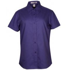 Coal Harbour Easy Care Short Sleeve Ladies Shirt