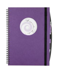 Large Hardcover JournalBook with Circle Frame