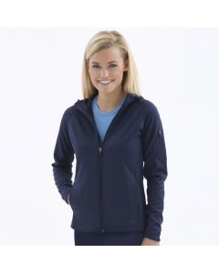 Fleece Hooded Ladies Jacket